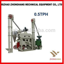 High Benefit Low Invest Automatique Mini Rice Mill Plant